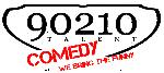 90210 comedy logo line break no bg